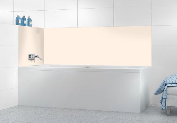 Panneau de bain Ivoire Glossy